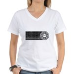 Lost Dharma Initiative Women's V-Neck T-Shirt