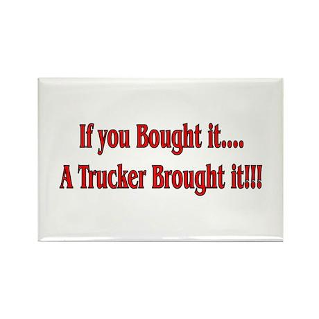 Truck 'n' Pride Rectangle Magnet (100 pack)