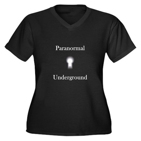 Paranormal Underground Women's Plus Size V-Neck Da