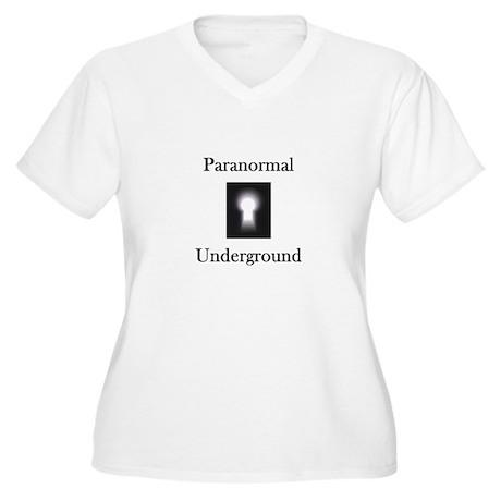 Paranormal Underground Women's Plus Size V-Neck T-