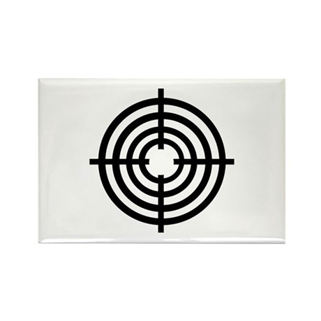Crosshairs Rectangle Magnet (100 pack)