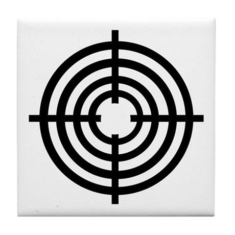 Crosshairs Tile Coaster
