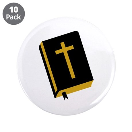 """Bible 3.5"""" Button (10 pack)"""