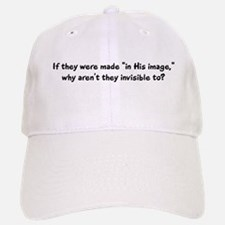"""Why aren't they..."" Baseball Baseball Cap"