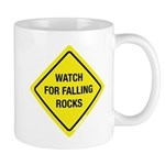 Watch For Falling Rocks Mug