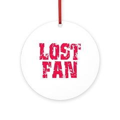 Lost Fan Ornament (Round)
