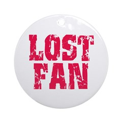 Lost Fan Ornament (Round)