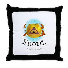 Illuminati GoldenApple Fnord Throw Pillow