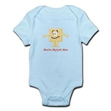 Macho Matzoh Man Passover Infant Bodysuit