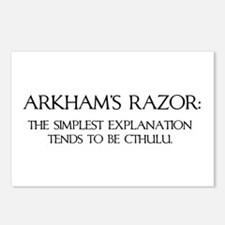 Arkham's Razor Postcards (Package of 8)