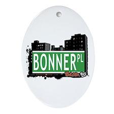 Bonner Pl, Bronx, NYC Oval Ornament