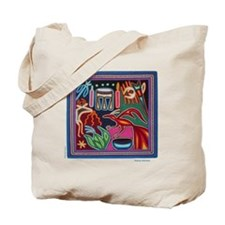 "Huichol Art: ""Making Magic"" Tote Bag"