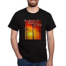 Environmental Black T-Shirt