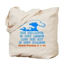 The Sea-Level Is Not Rising Tote Bag