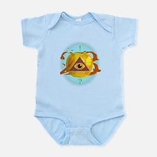 Illuminati Golden Apple Infant Bodysuit