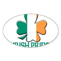 Irish pride Oval Sticker (10 pk)