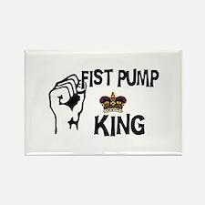 Fist Pump Rectangle Magnet