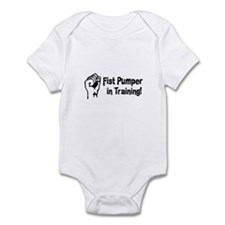 Fist Pumper in Training Infant Bodysuit