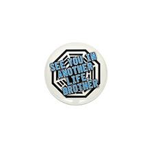 Desmond Quote with Dharma Logo Mini Button (100 pa