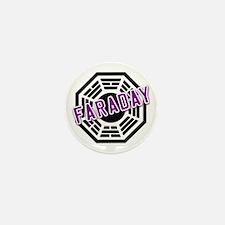 FARADAY Dharma Logo from LOST Mini Button
