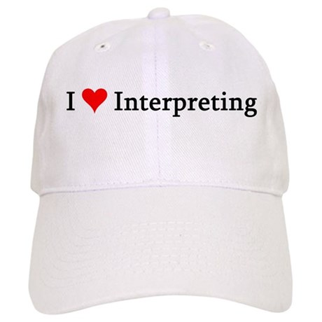 I Love Interpreting Cap