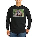 The Sage Long Sleeve Dark T-Shirt