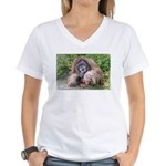 The Sage Women's V-Neck T-Shirt