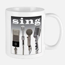 4 Microphones with Sing Mug