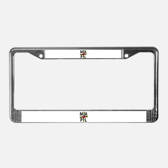 Cool Trance License Plate Frame