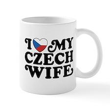 I Love My Czech Wife Small Mug