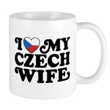 I Love My Czech Wife Small Mug