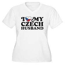 I Love My Czech Husband T-Shirt
