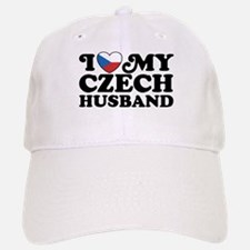 I Love My Czech Husband Baseball Baseball Cap