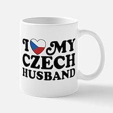 I Love My Czech Husband Mug