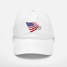I Voted Flag Baseball Baseball Cap