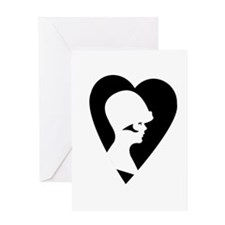 Flapper Love Greeting Card