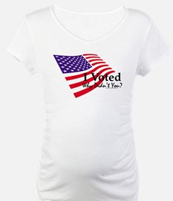 I Voted Flag Shirt