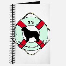 Newfie The Sailor Dog Journal