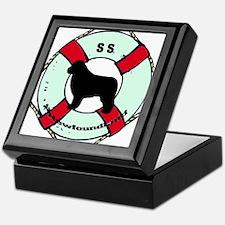 Newfie The Sailor Dog Keepsake Box