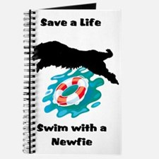 Swim With A Newfie! Journal