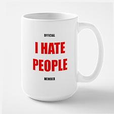 Official I HATE PEOPLE member official mug