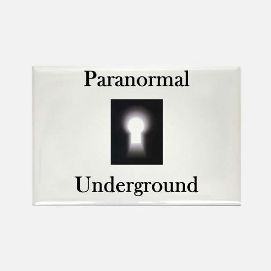Paranormal Underground Rectangle Magnet