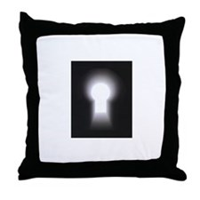 Paranormal Underground Throw Pillow