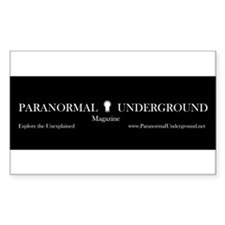 Paranormal Underground Rectangle Decal