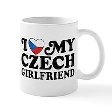 I Love My Czech Girlfriend Small Mug