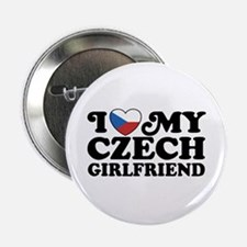 "I Love My Czech Girlfriend 2.25"" Button"