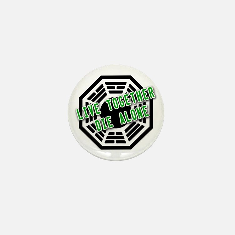 Live Together, Die Alone LOST Mini Button