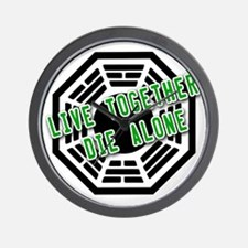 Live Together, Die Alone LOST Wall Clock