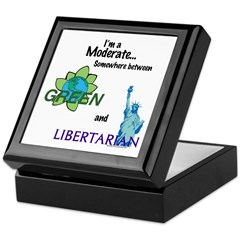 I'm a Moderate Keepsake Box