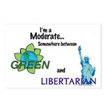 I'm a Moderate Postcards (Package of 8)
